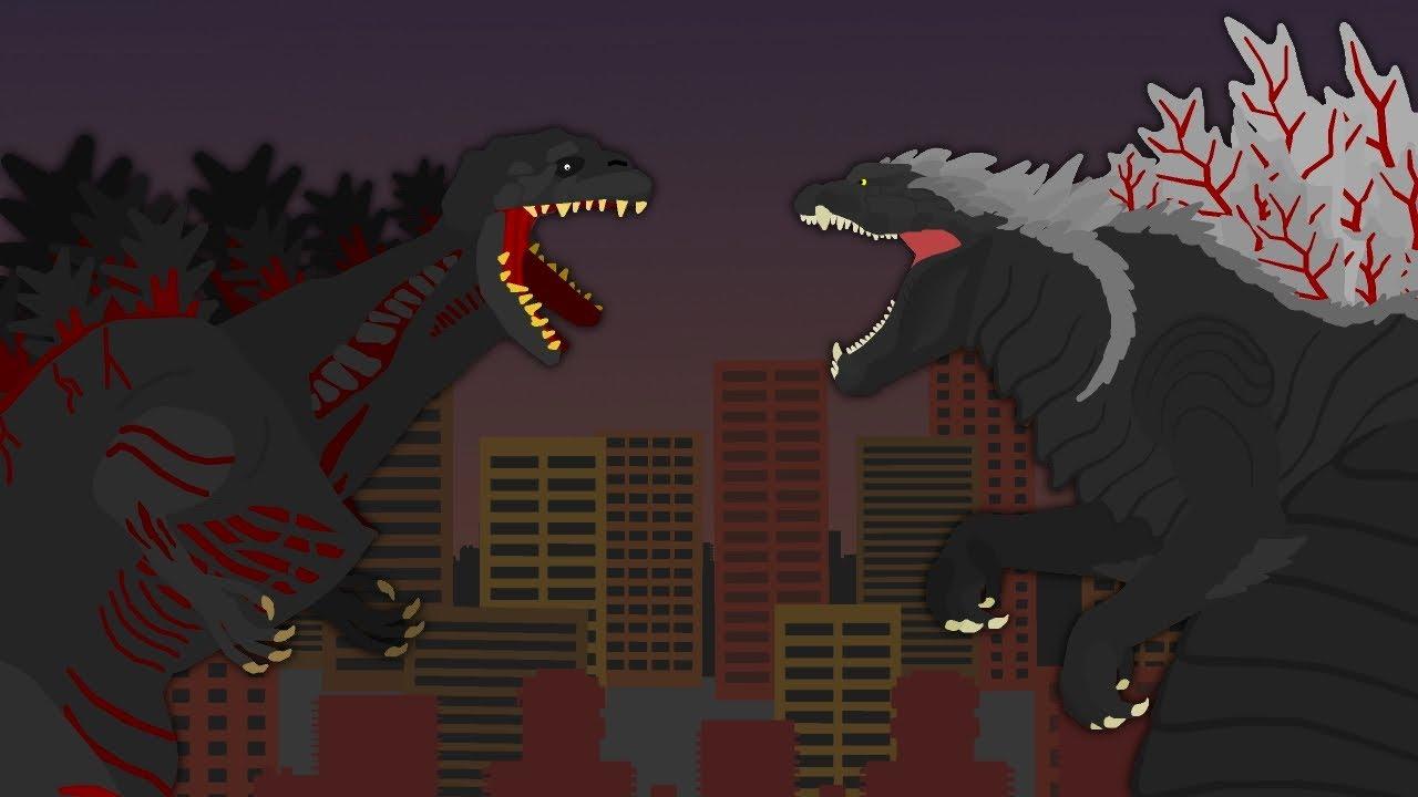 Shin Godzilla vs Godzilla Singular Point  |  EPIC BATTLE  |  Shin vs Ultima