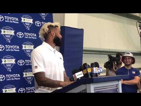 Odell Beckham Jr Talks About New Contract