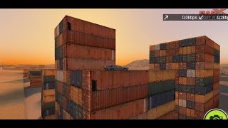 How to jump on containers in Car X Drift Racing