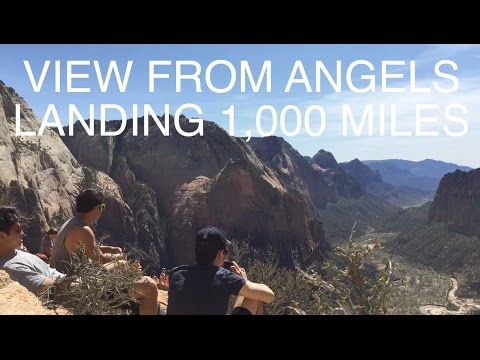 Andrew's Travel Guide Zion Vegas