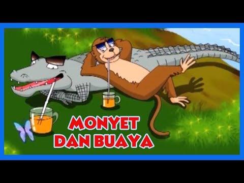 Monyet Dan Buaya - Cerita Untuk Anak-Anak | Dongeng Bahasa Indonesia | Animasi Kartun