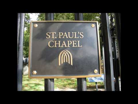 St Paul's Chapel & Graveyard, Manhattan, New York City