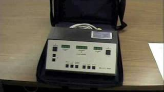 Portable Audiometer Setup