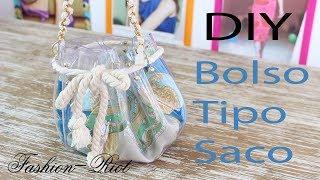 DIY- Crea un bolso transparente tipo saco (FÁCIL)  | Fashion Riot Thumbnail