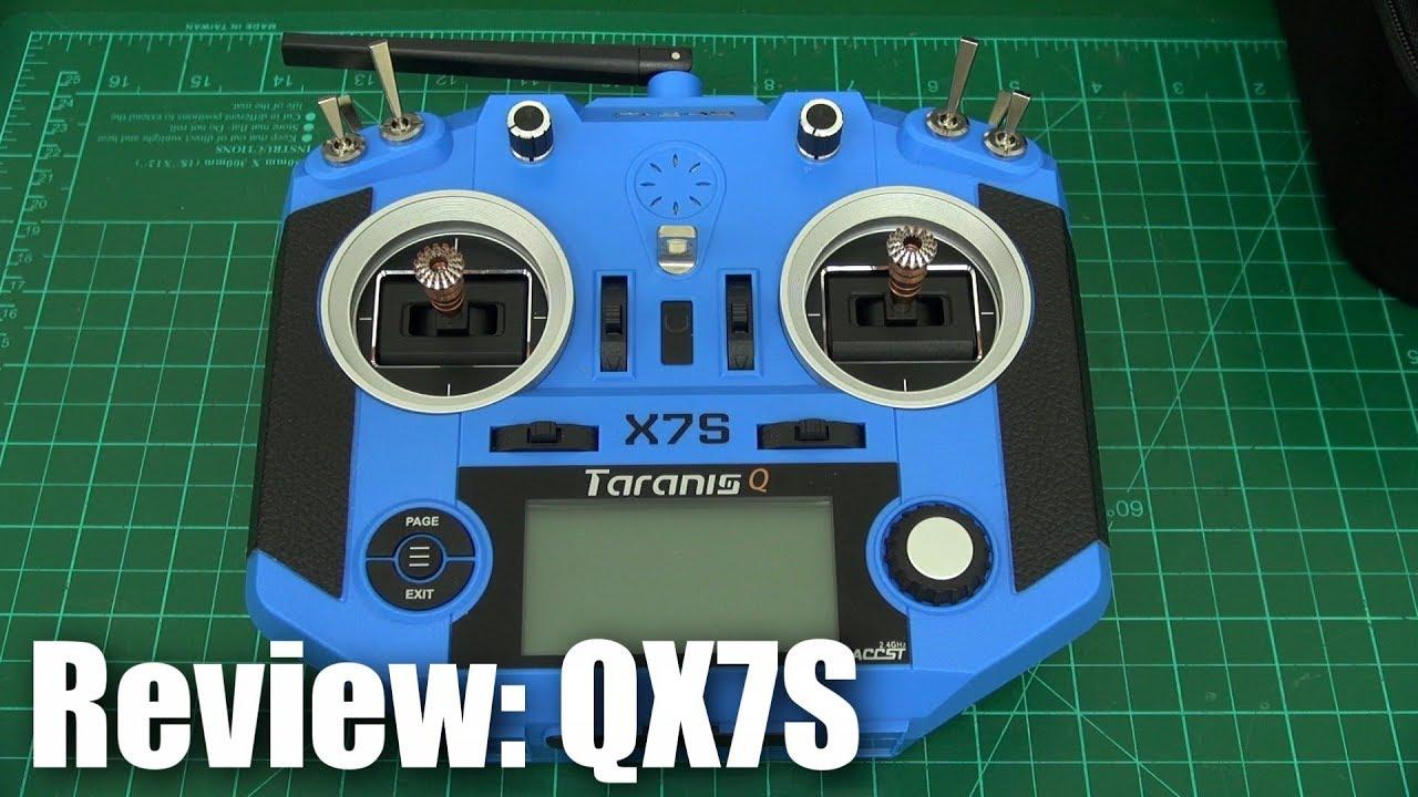 FrSky Taranis QX7S 2 4GHz RC Transmitter - Carbon or Blue -