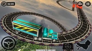 Impossible Truck Tracks Drive Android Gameplay 2017