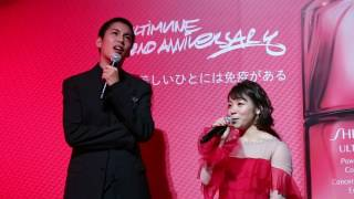 資生堂/アルティミューン発売2周年記念トークに三宅宏実選手と大野拓朗...
