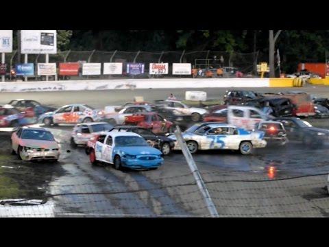 Demolition Derby Crash-O-Rama 2016 Event 7