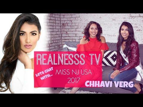 RealNesss TV ep.1 | Lets chat w/ Miss New Jersey USA 2017 ; Chhavi Verg