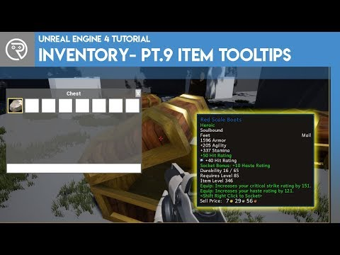 Unreal Engine 4 Tutorial - Inventory System - Part 9 - Item