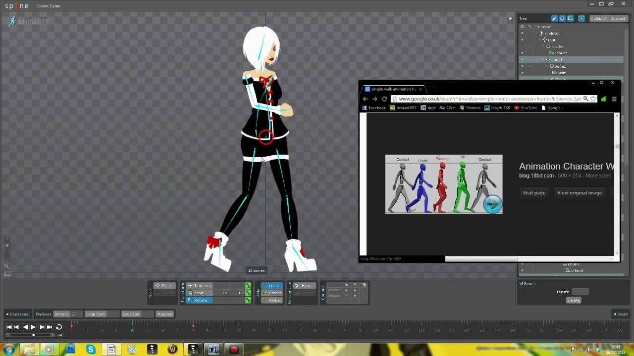 2d Character Design Software Download : D animation for games intro to spine tutorial youtube