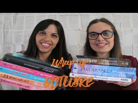 WRAP UP OCTUBRE/ Recuento de libros octubre!