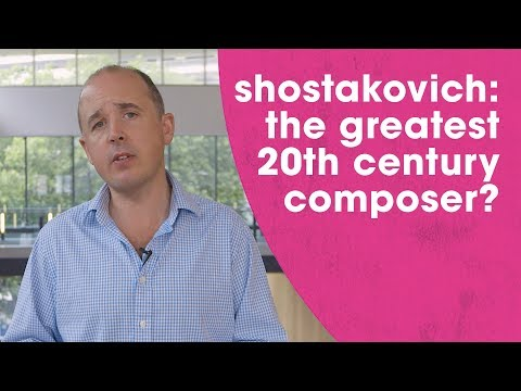 Was Shostakovich the greatest 20th century composer?