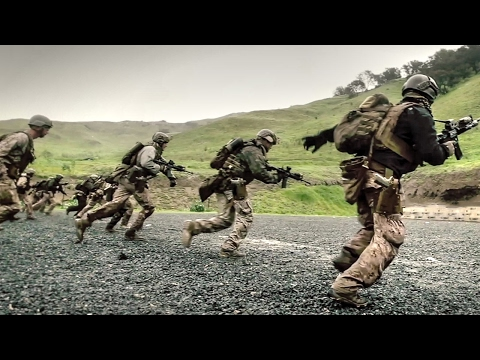 US Marines Train For War