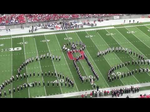 "Ohio State Marching Band ""Disney Tribute"" Halftime vs Buffalo: Aug. 31, 2013"