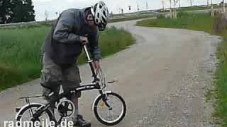 born2ride cheap folding bike bicycle test