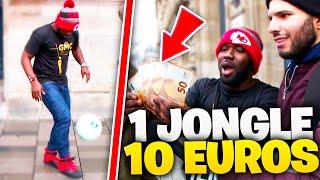 J'OFFRE 10 EUROS PAR JONGLES À DES INCONNUS !