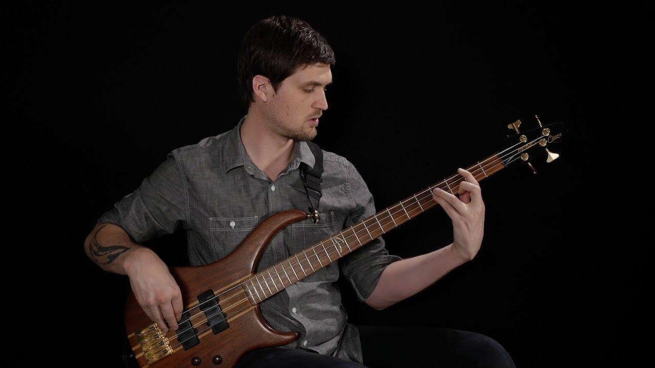 basic string crossing exercises for bass youtube