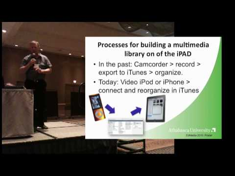 iPod, iPhone, now iPAD: the evolution of multimedia access in a mobile teaching context