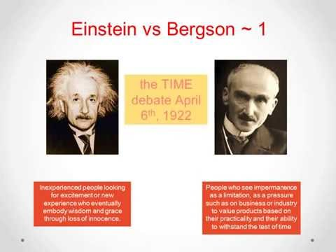 Time Intelligence ~ Einstein vs Bergson