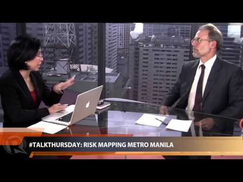 #TalkThursday: Risk mapping Metro Manila