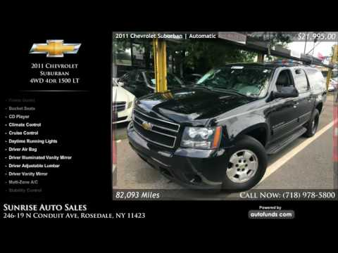 Used 2011 Chevrolet Suburban | Sunrise Auto Sales, Rosedale, NY - SOLD