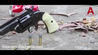 SCHOFIELD co2 REVOLVER by Airsoft gun india