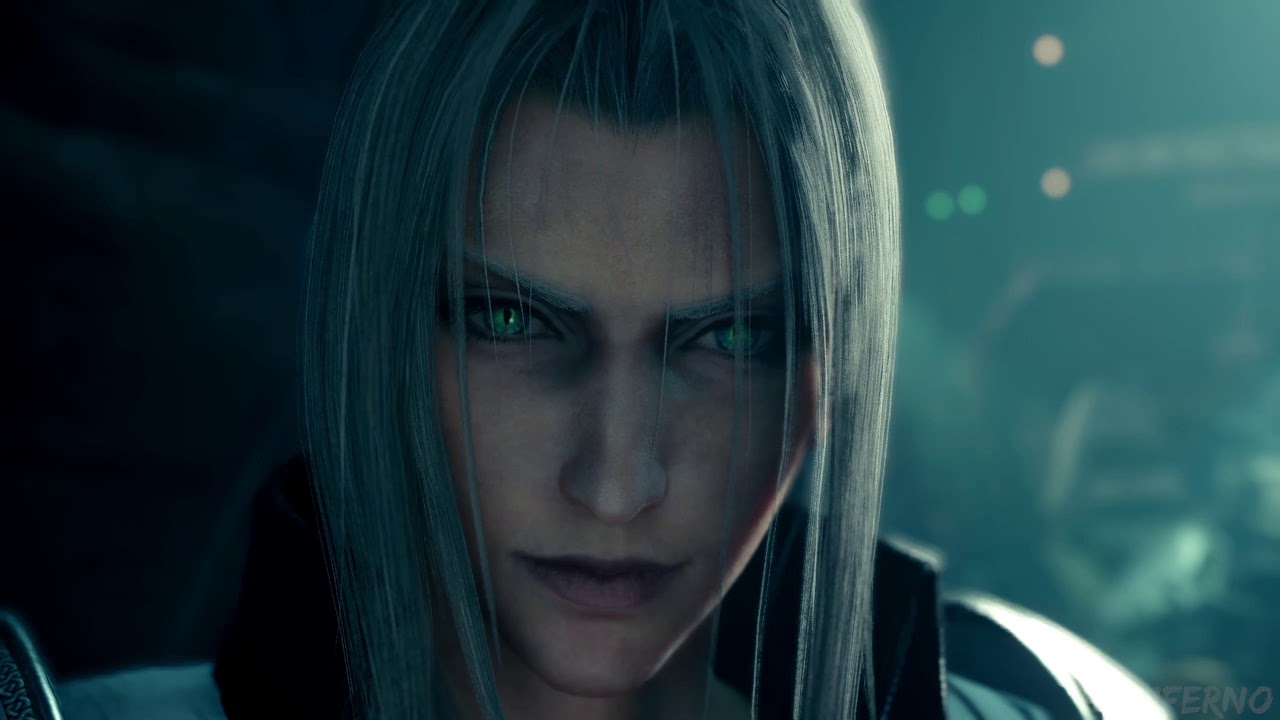 Final Fantasy 7 Remake All Sephiroth Scenes Youtube
