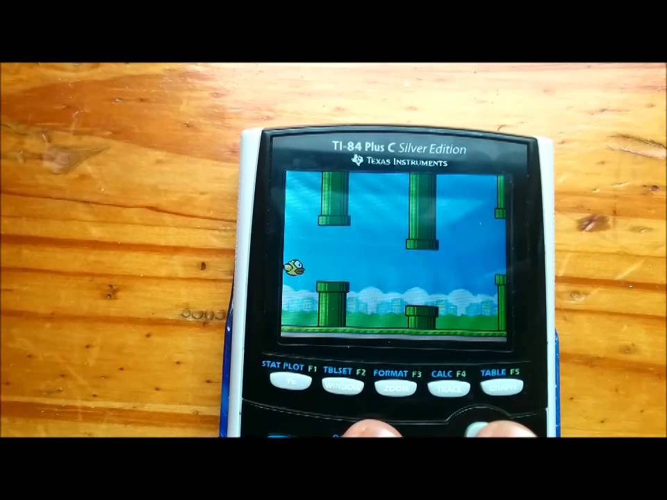 Flappy Bird for Graphing Calculators (TI-84 Plus C Silver Edition ...