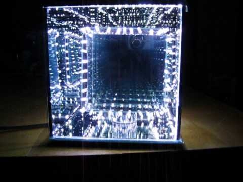 Infinity Mirror Cube The Infinitum Transfunctioner Youtube