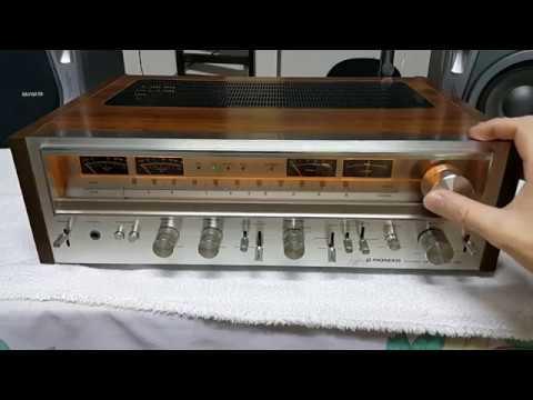 Receiver Pioneer SX-880 Vintage