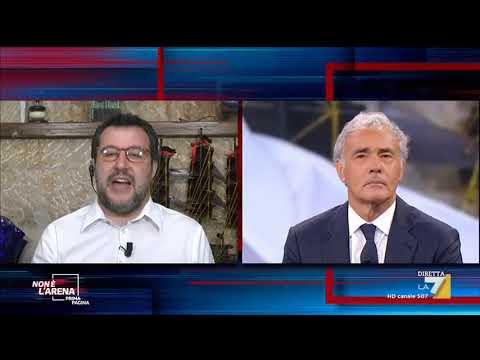 """Matteo Salvini: """"Governo con il M5s finito per il 'no' a riforma della giustizia"""""""