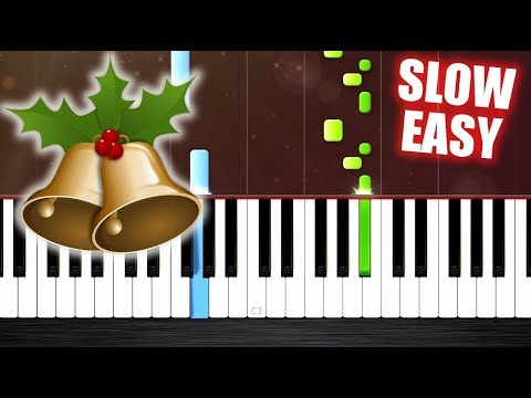 Carol of the Bells - SLOW EASY Piano Tutorial by PlutaX