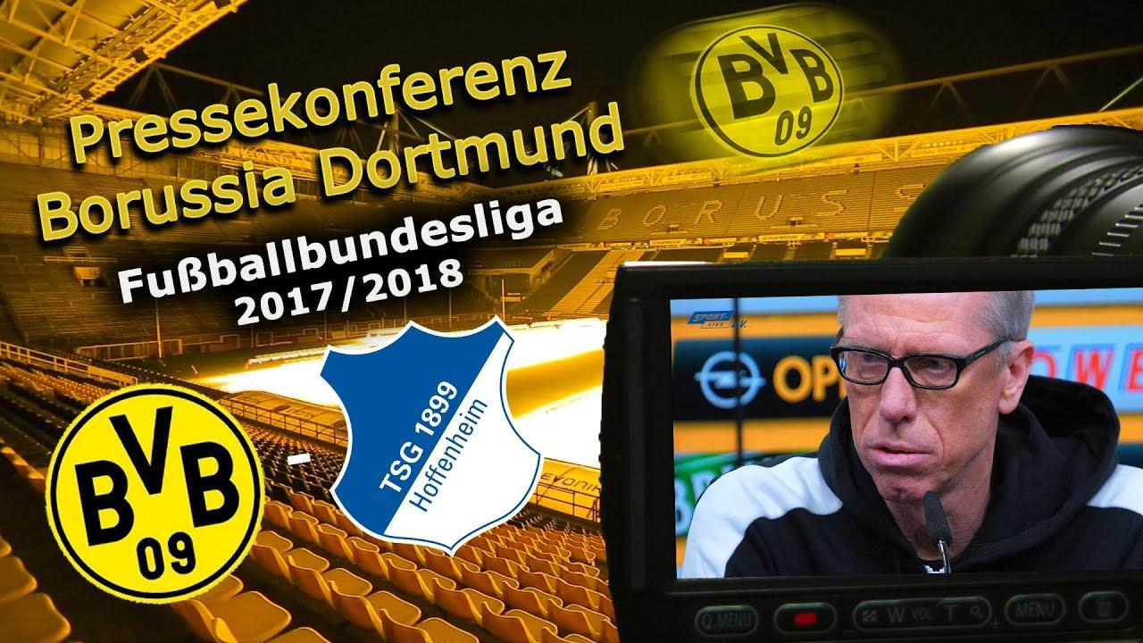 Borussia Dortmund - TSG 1899 Hoffenheim: Pk mit Peter Stöger