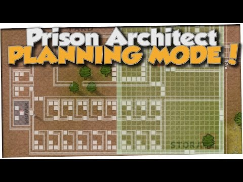 Prison Architect - PLANNING MODE SUCCESS! (Gameplay Part 1)