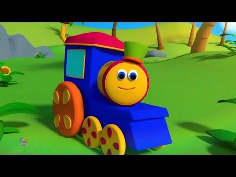 Боб поезд | Мы идем песня | детская песня | Bob Train | We Go Song
