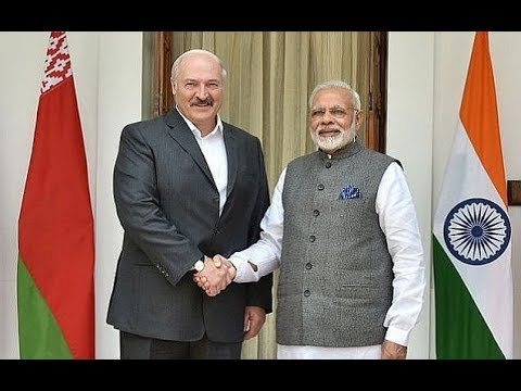 PM Modi with Belarus President Mr.Alexander Lukashenko at Joint Press Statements