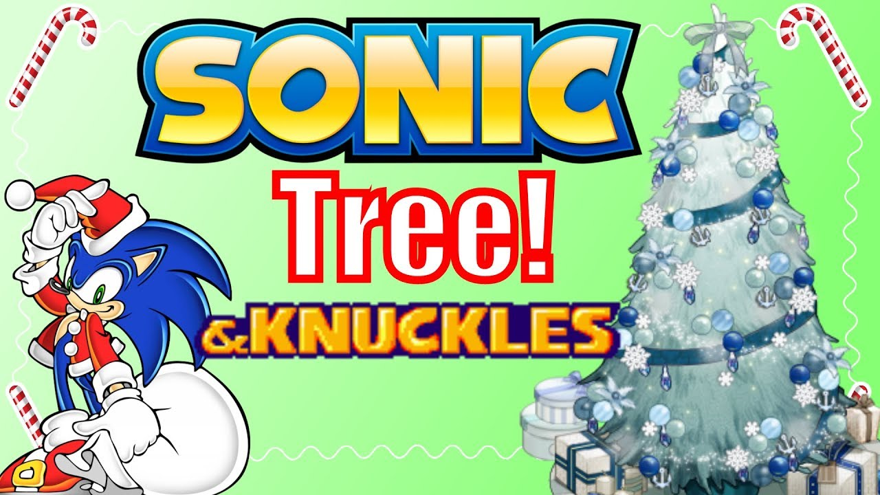 decorating my sonic themed christmas tree - Sonic Hours Christmas Day