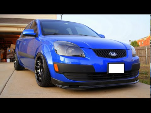 2006 kia rio that could with a cracked muffler youtube. Black Bedroom Furniture Sets. Home Design Ideas