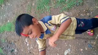 Atharv Bamane dancing on Sairat ringtone (funny video)