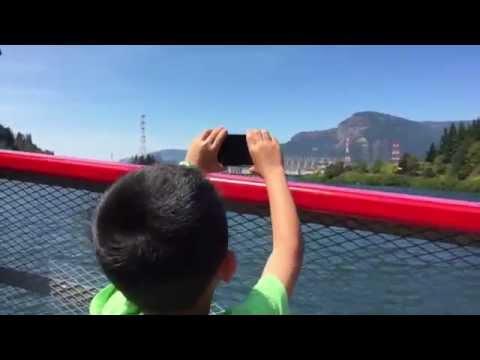 Portland Spirit Columbia Gorge Sightseeing River Cruise (bonus footage)