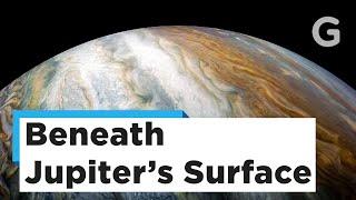 Juno Reveals Oddities Beneath Jupiter