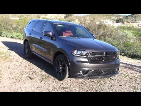 2017 Dodge Durango R/T RWD: Performance & Fuel Economy - YouTube