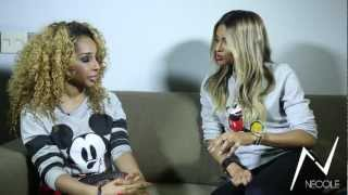 Necole Bitchie X Ciara Interview Outtakes and Bloopers