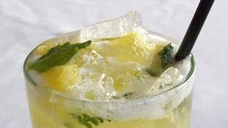 How To Prepare Lemon And Mint Muddle-summer Drinks,party Drinks,hot Drinks,sweet Drinks,funny Drinks