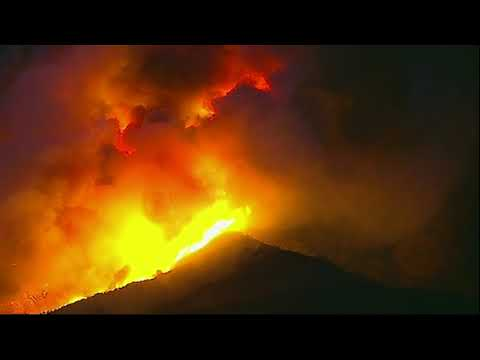 So. Calif. wildfire roars to life in wilderness