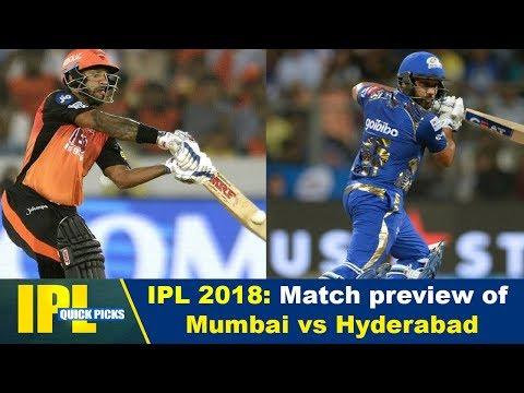 IPL 2018: Match preview of Mumbai vs Hyderabad