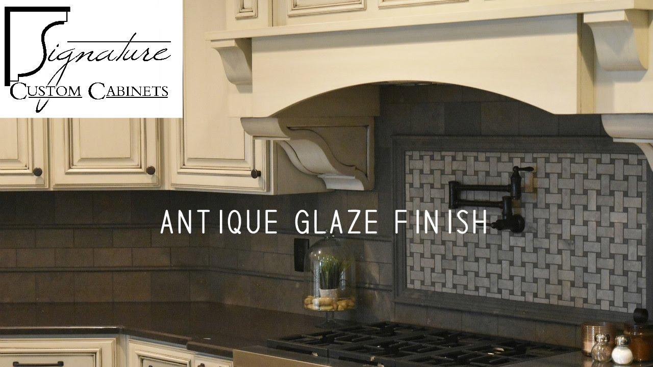 Superieur Antique Glaze Finish   Signature Custom Cabinets