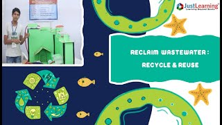 Sewage Treatment Plant |  How to reuse sewage water | JustLearning
