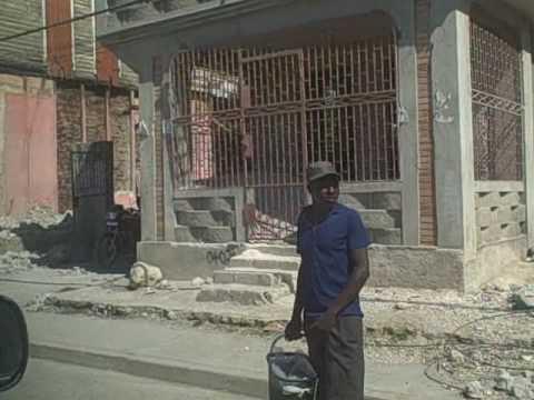 The Haiti Earthquake - Visiting The Epicenter In Leogone -- Total Devestation